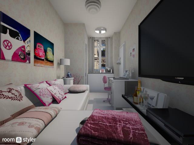Feminine Paris tiny room - Feminine - by Anna Wu