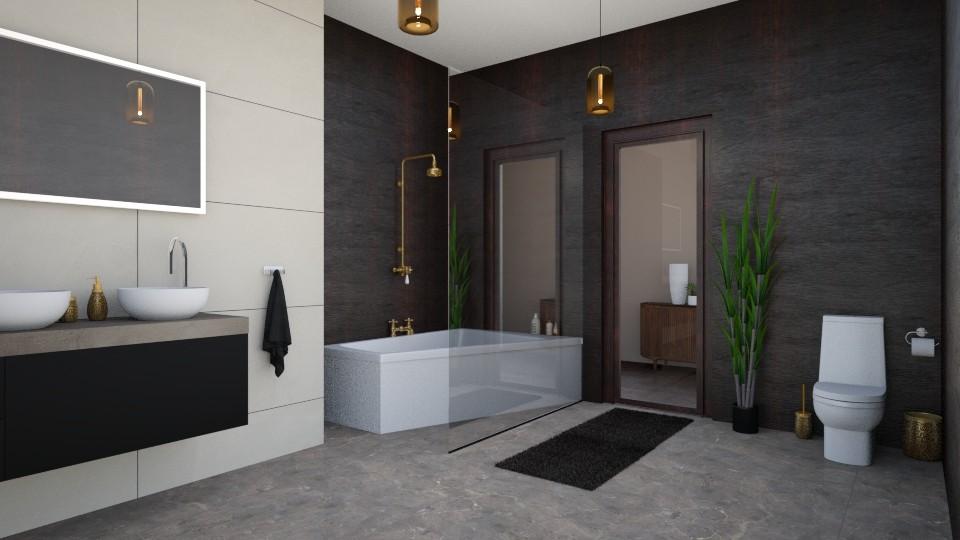 MI017 - Modern - Bathroom - by i l o n a