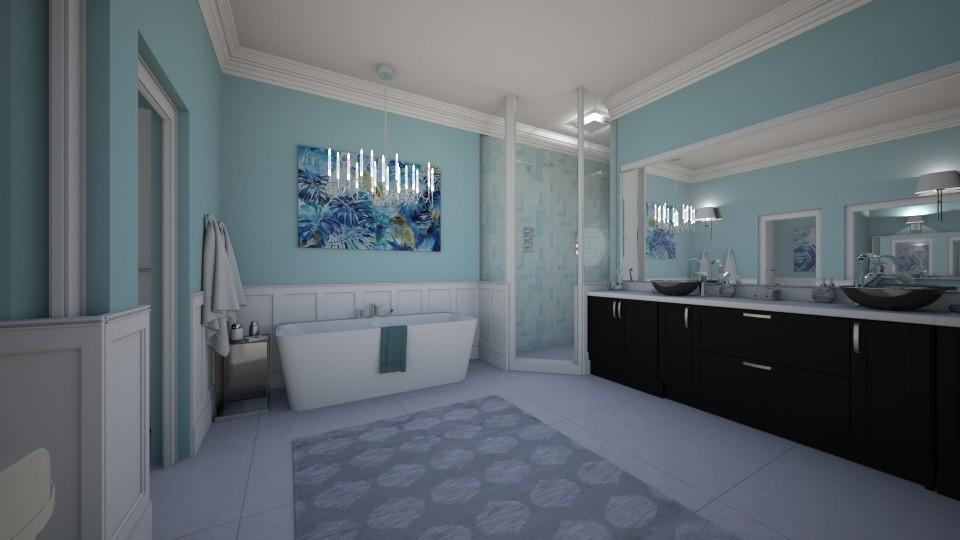 Swan Who - Classic - Bathroom - by AnnamariMay