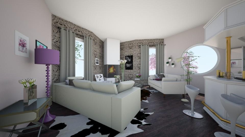 lovely living room - Glamour - Living room - by eleonoraxruc