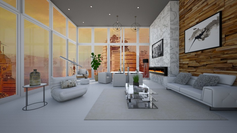 Mansion on Mars - Modern - Living room - by bgref