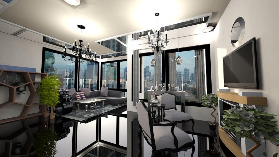 The Interlace Livingroom - Living room - by Gener Morales