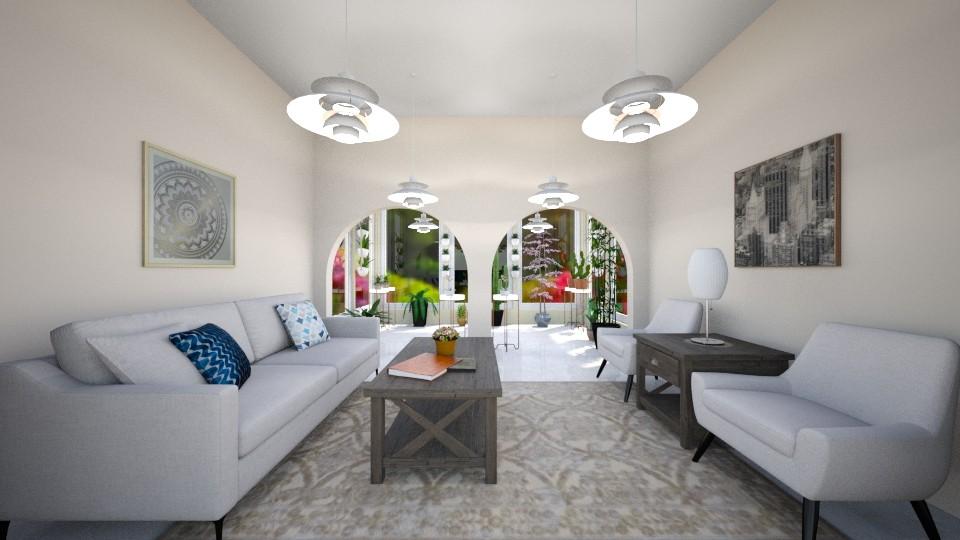 Comfy Sun Room - Modern - Living room - by millerfam