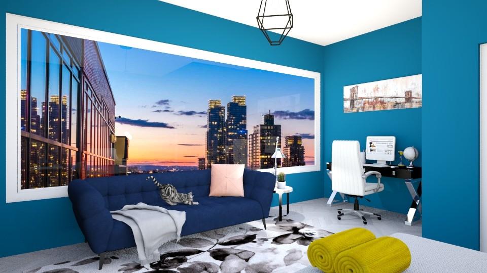 Vista bela - Bedroom - by Nicolly Moura