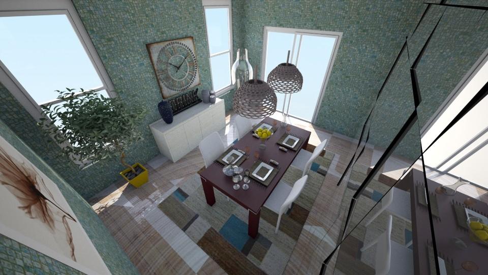 SALA DE JANTAR FOLLWERS - Dining room - by camivieira94