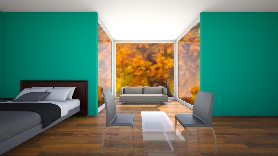 Window Seat - Modern - Bedroom - by VibrantSplash