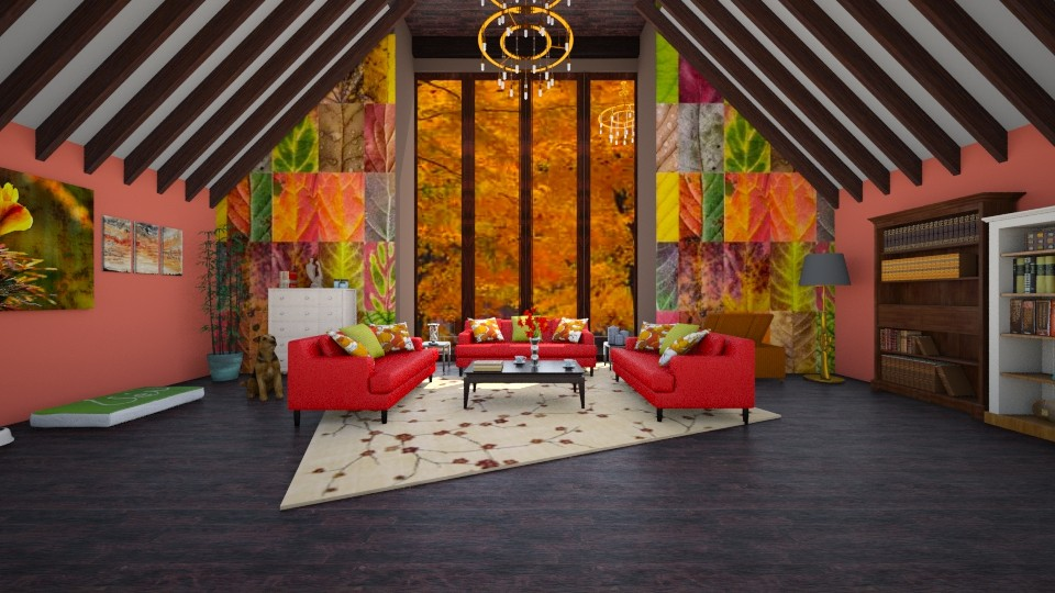 Autumn - Modern - Living room - by Ivana1307