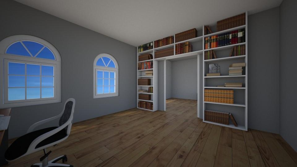 Office view 2 - Bedroom - by BrynnWisse