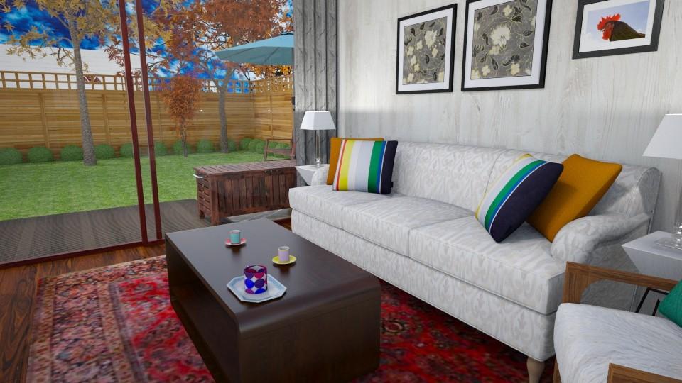 Nearing Autumn - Living room - by ijustlikemakingfloorplans