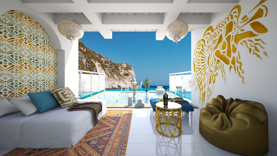 Valentines in Greece - Global - Bedroom - by bgref