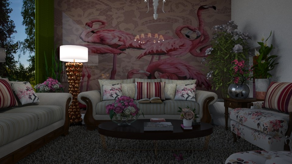 Flamingo - by Maria Helena_215