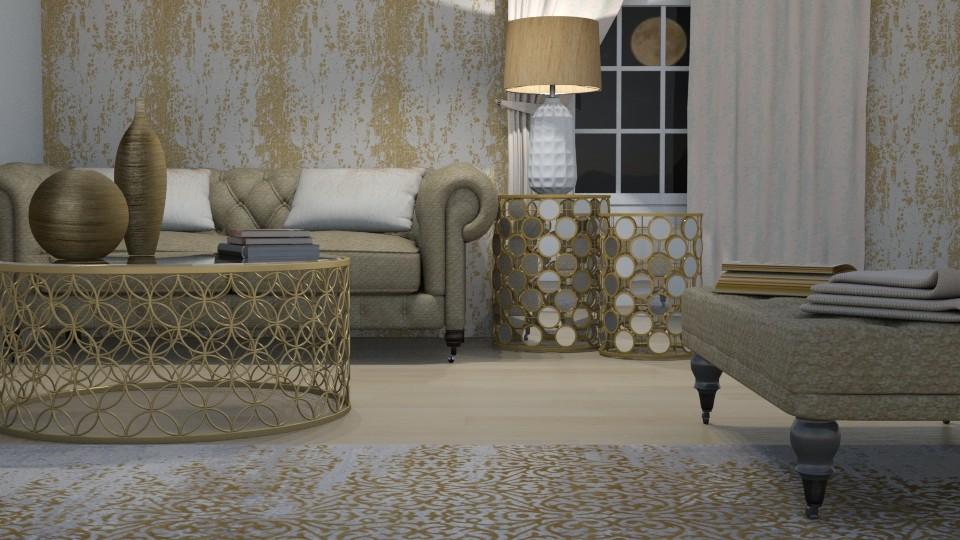 Gold Rush x  - Living room - by kelseyleigh3
