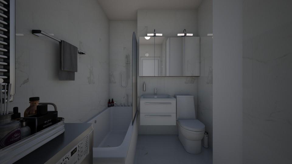 small bath_I - Bathroom - by brita2411