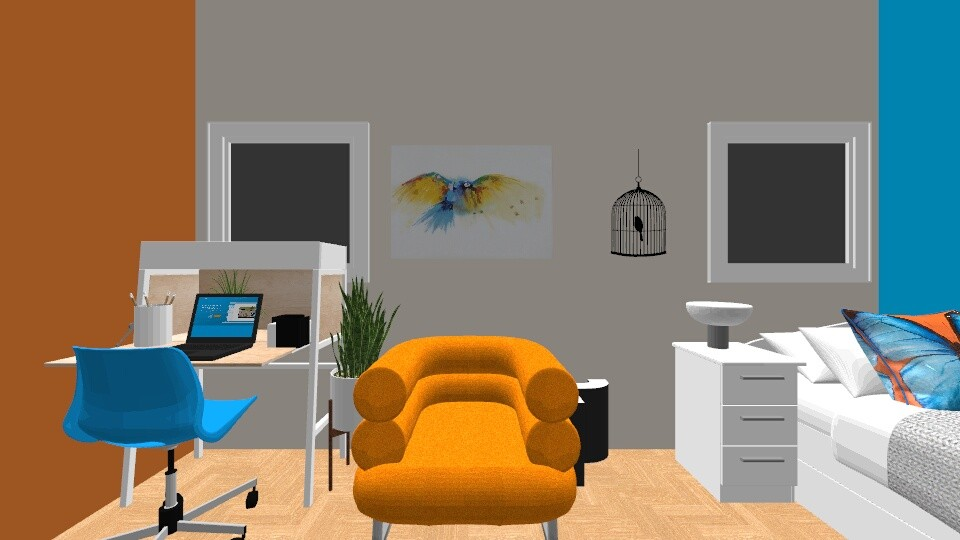 PK acctual room - Bedroom - by LexieB123