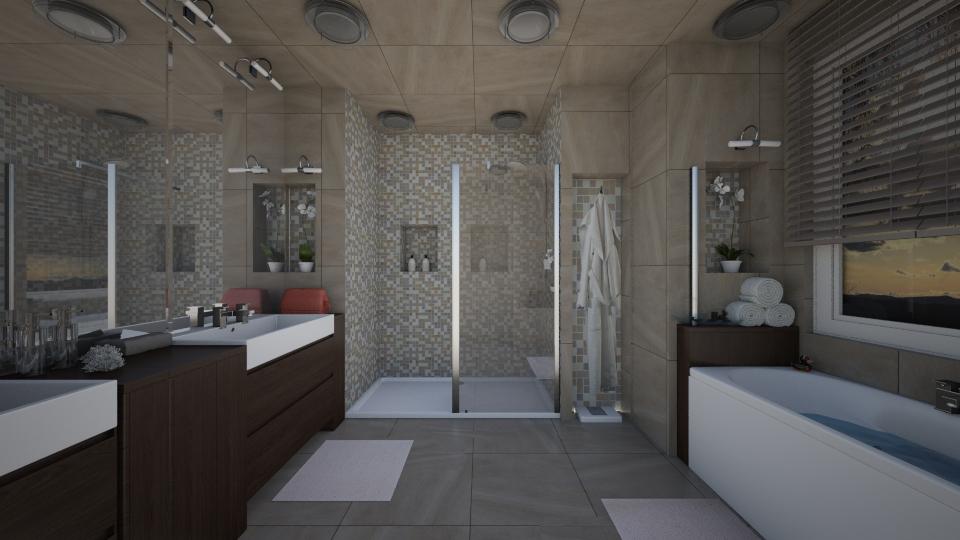 Contemporary bath by ttd for Window palla design