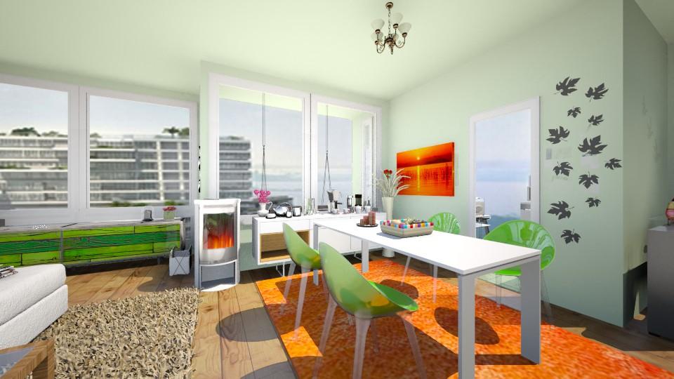 The Interlace Livingroom - by FrosinaStojkovska
