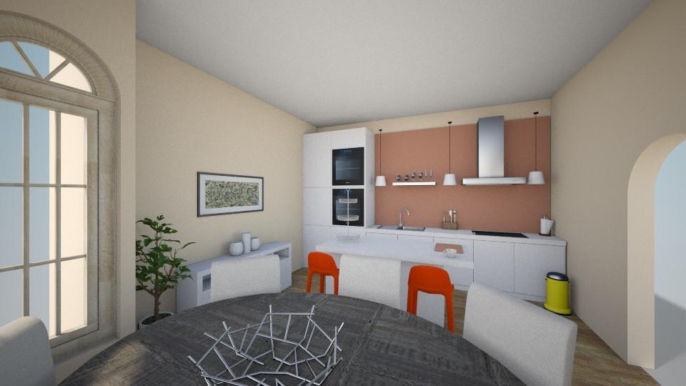 Cool famili kitchen - Kitchen - by Zelena_