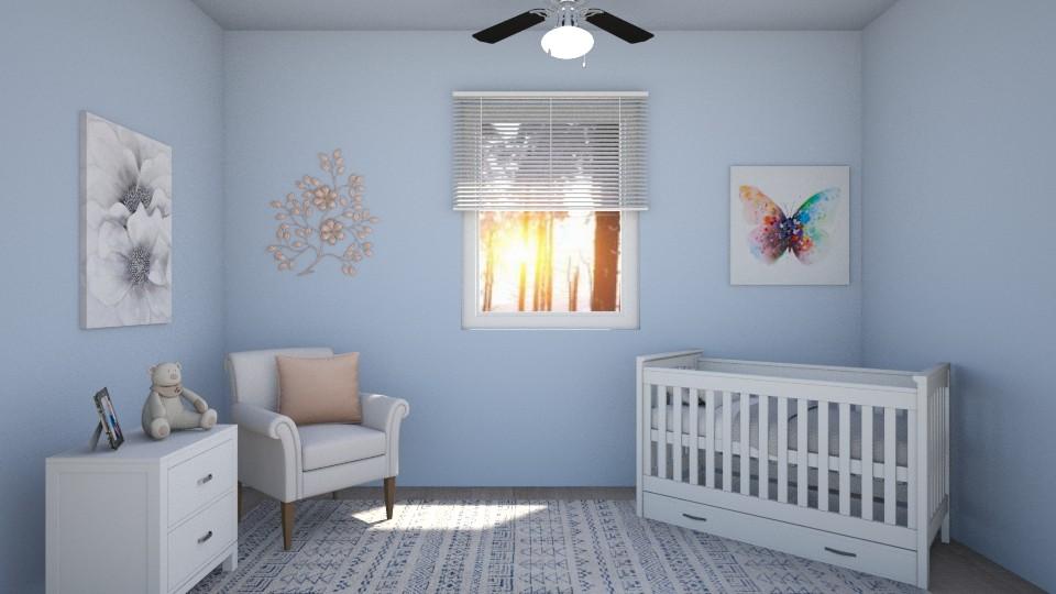 Butterfly Nursery - by Abigail Enloe