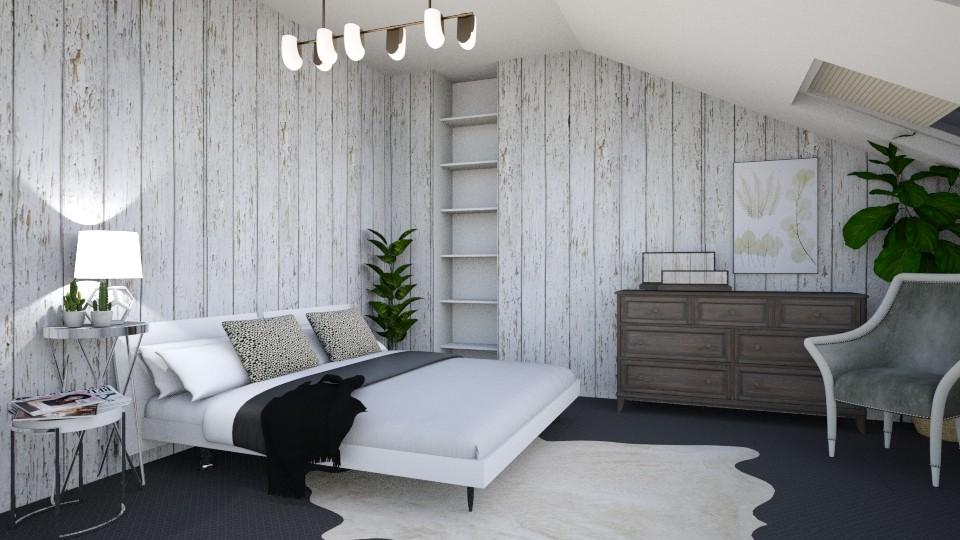 Minimalism - Bedroom - by dorota_k