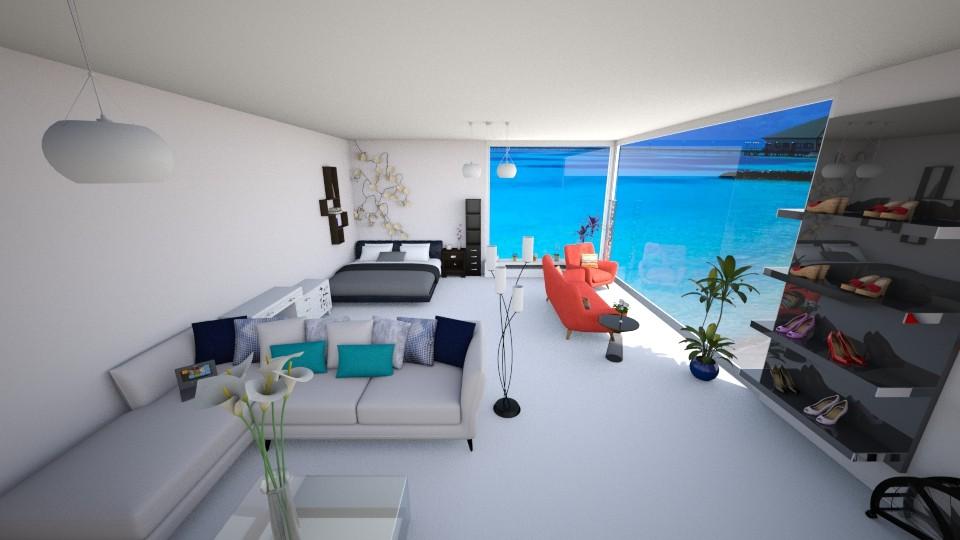 Room1 - Bedroom - by Yuki Cu