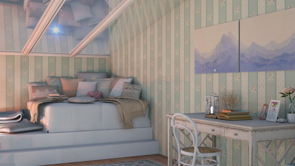 Shabby Chic - Vintage - Bedroom - by leahpro