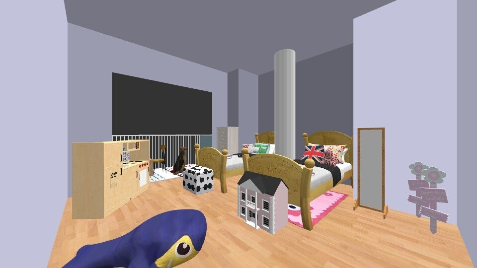 Asd - Modern - Kids room - by mittens1278