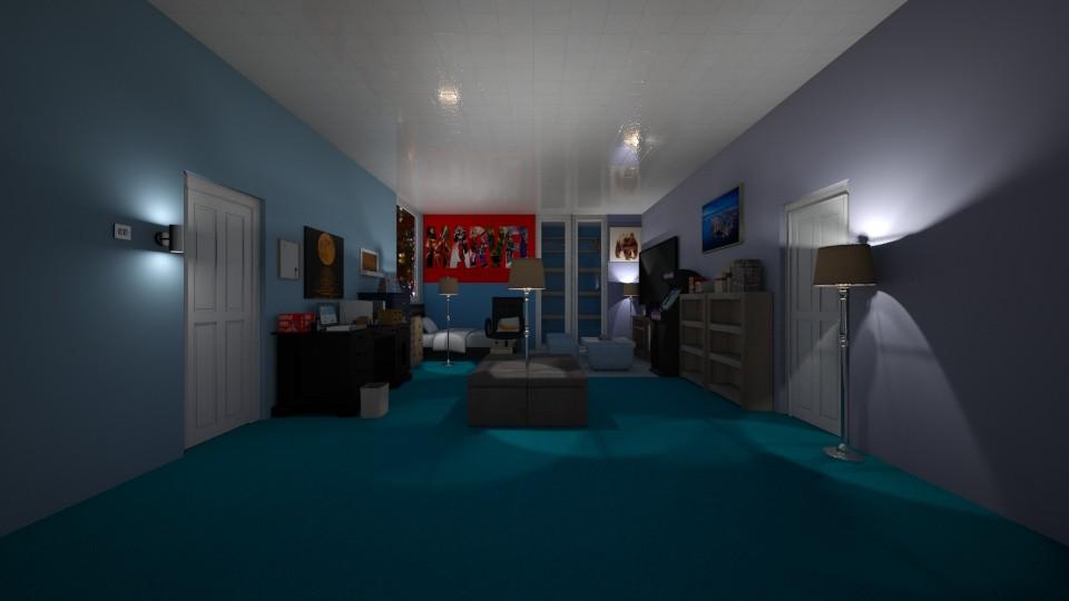 L - Bedroom - by The cartoon fan