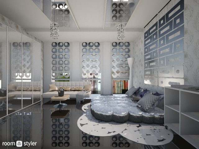 silver - Bedroom - by lucy_world