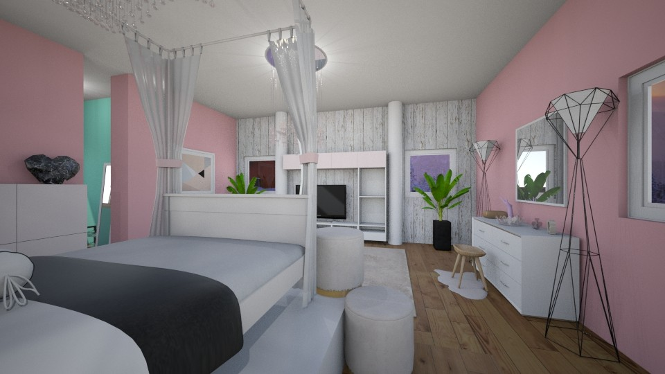 Princess - Feminine - Bedroom - by RaeCam