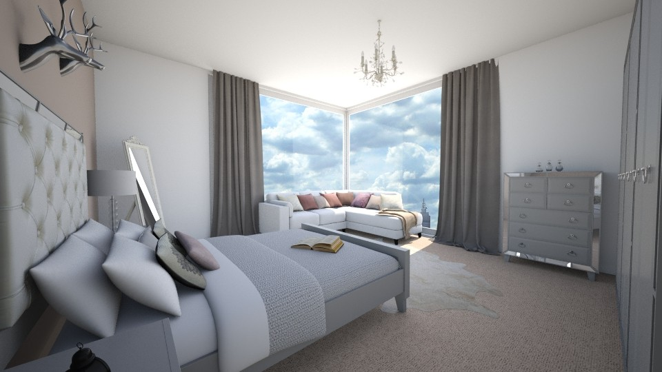 Flat - Bedroom - by laurencowper