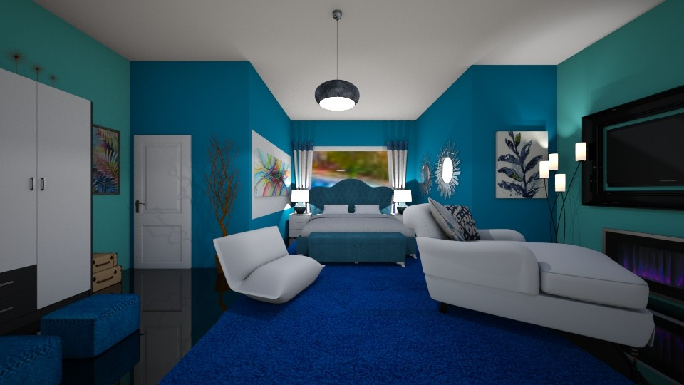 master room - Rustic - by Tininha oliveira