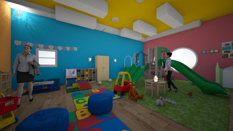 Kindergarten - by dalia sn