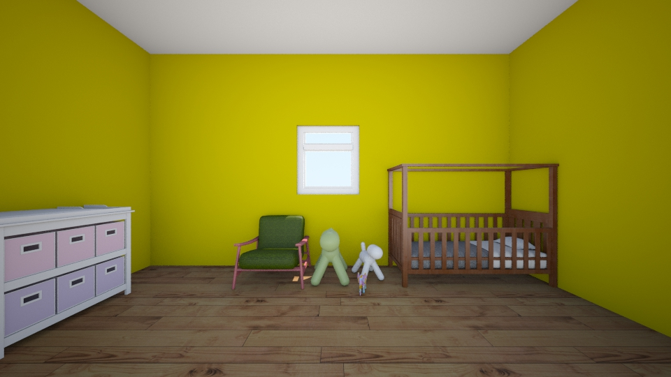Her nursery - Modern - Kids room - by Abigail Carter