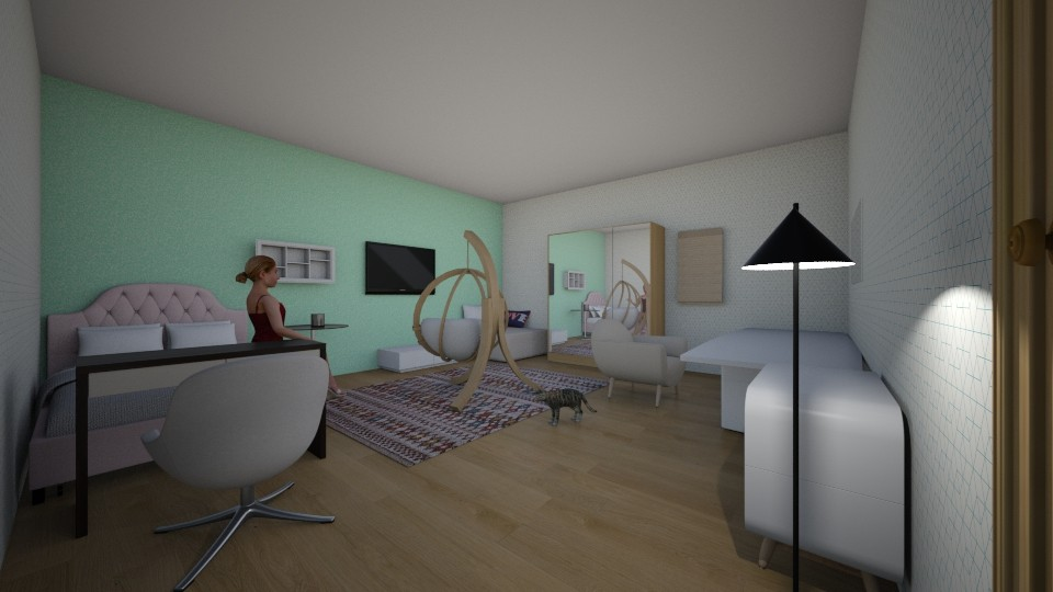 my  bedroom - by anaclaraalvesjianelli