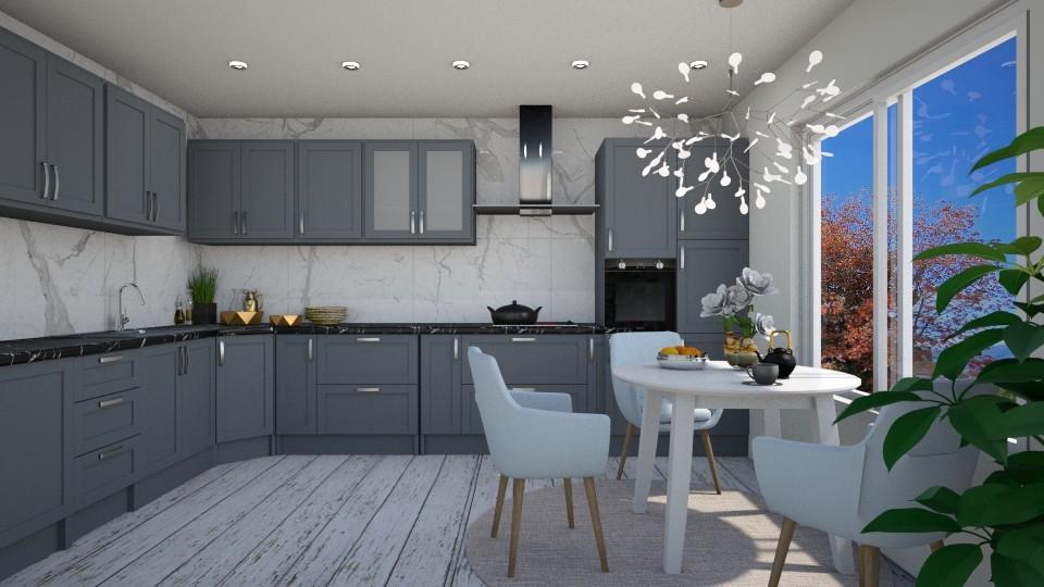 Marble - Kitchen - by dorota_k
