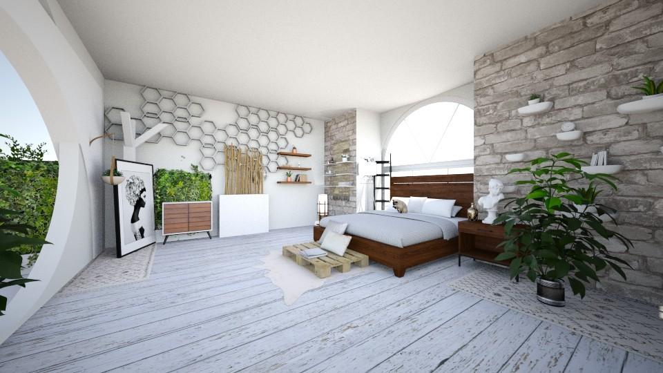 c - Bedroom - by anekyen