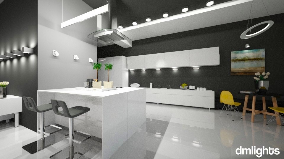 Kitchen_Modern_DmLights - Modern - Kitchen - by Mihailovikj Mimi
