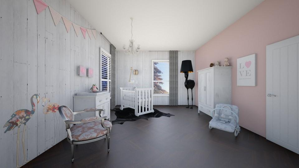 Baby Girl - Bedroom - by TRMVM