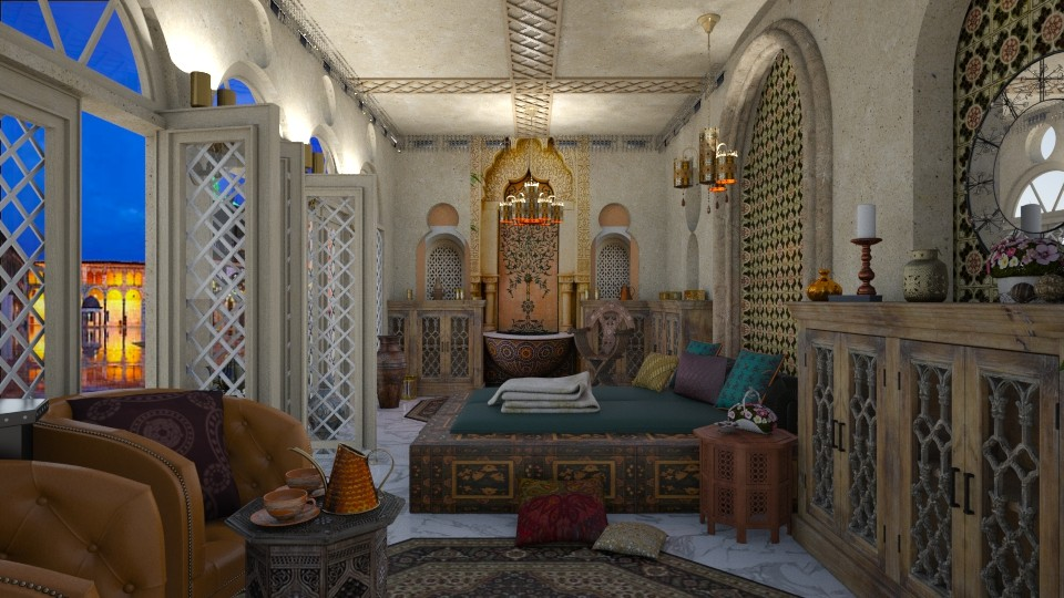 Ummayad square - Bedroom - by marocco