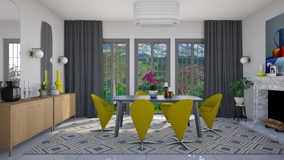 DineCone Y - Modern - Dining room - by 3rdfloor