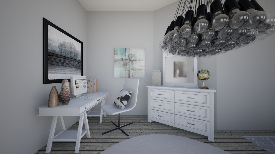 b - Bedroom - by Katherine Gilbert