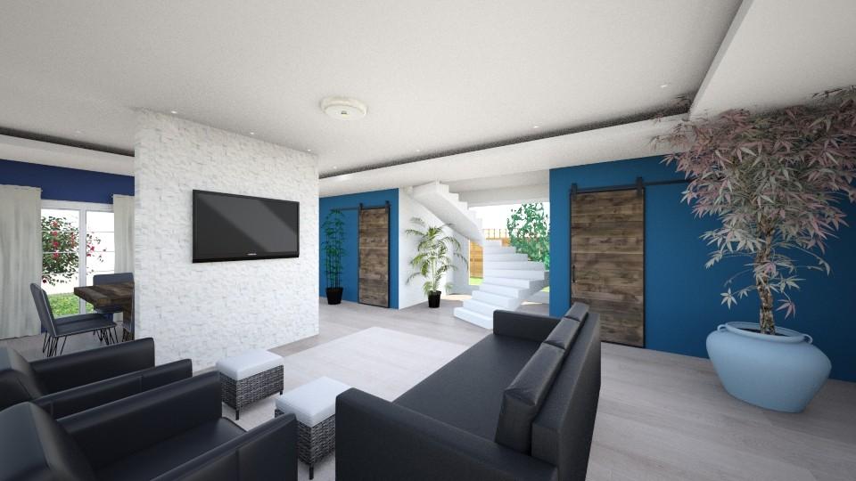 sala de estar - by Gheisa Souza