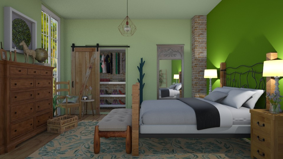 BR - Bedroom - by Ancy