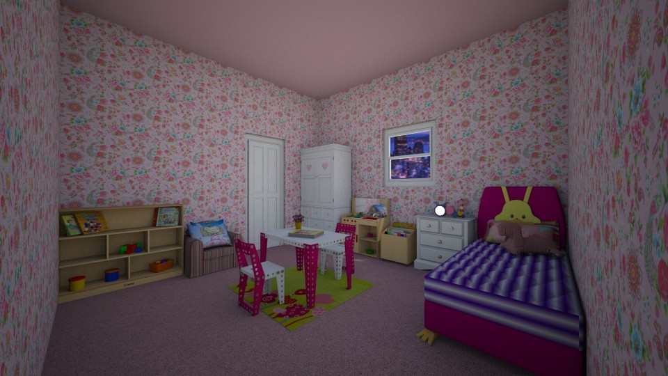 6 Year Old Girls Bedroom - by sstringham30280