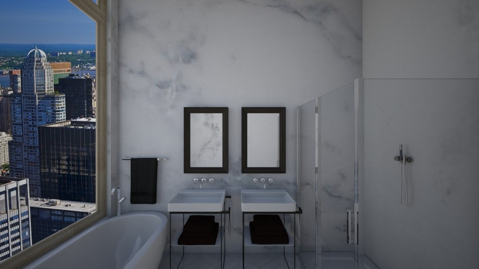 New York Bathroom - by Taisha Casimir