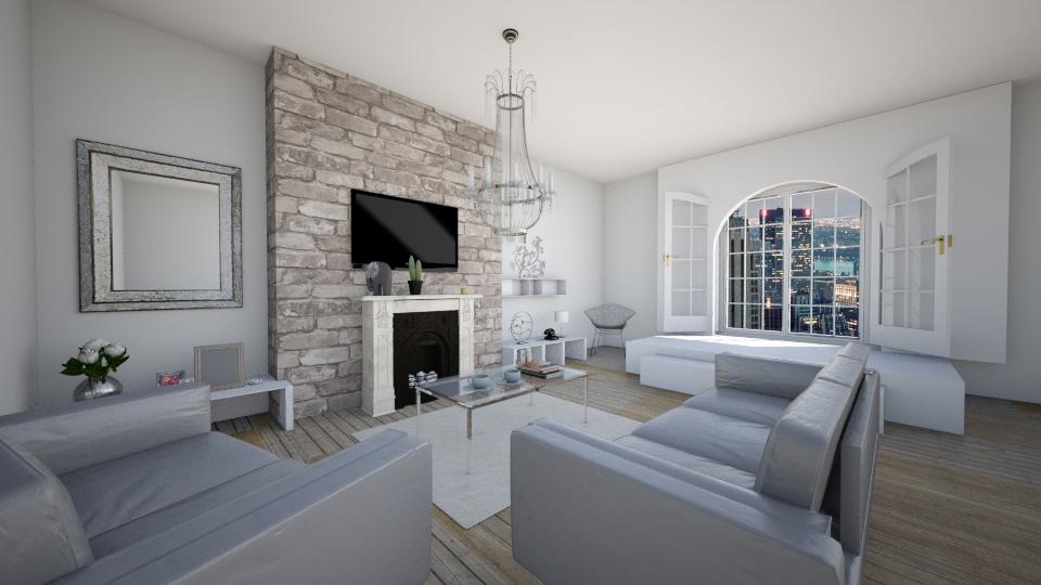 NYC - Living room - by anamarija00