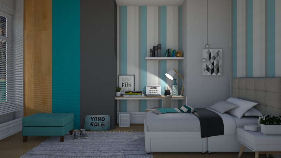 Jacob  - Masculine - Bedroom - by patriicia popa