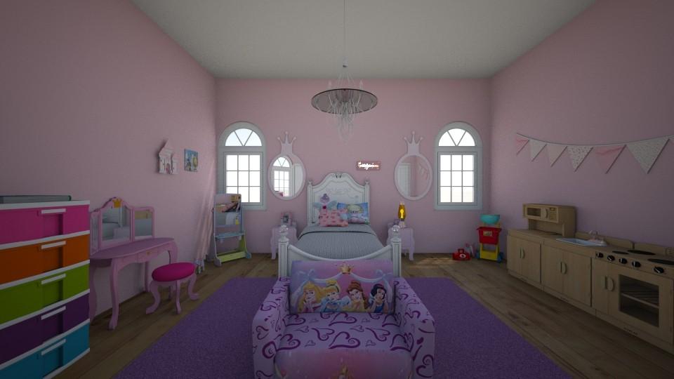 a - Kids room - by Ahniyaw1234
