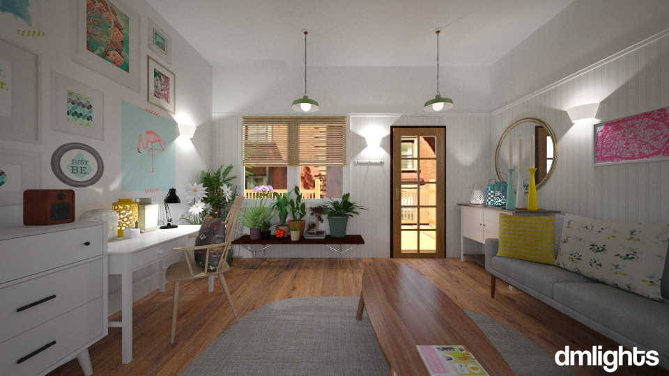 small bungalow - by DMLights-user-981893