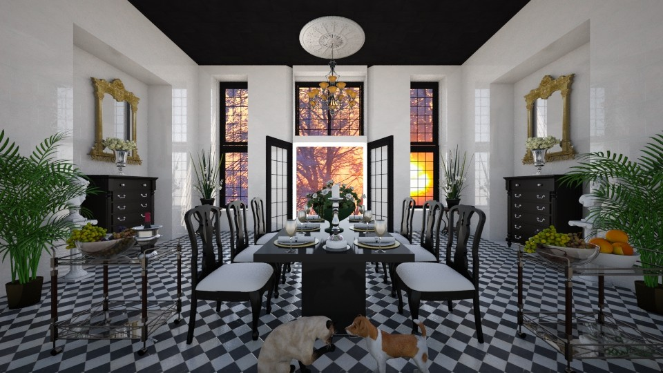 Dining Elegance - by lydiaenderlebell